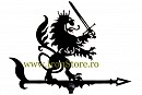 Girueta ornamentala Leu cu sabie cod GR04