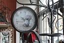 Ceas metalic de exterior